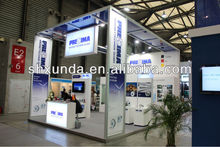 Aluminum truss exhibition booth design and construction contractor