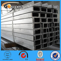 Steel U channel with different sizes