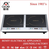 Freestanding 3200W induction stove double cooker electric appliance induction cooker china manufacture
