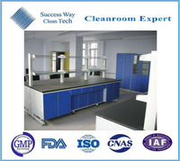 Cleanroom fume hood of chemical exhaust hood for lab