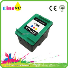 Tri-color Refillable Ink Cartridge H-134 Recycle For HP Ink Cartridge C9363H Printer Ink Cartridge