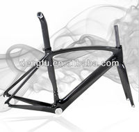 2013 new 3k glossy FM098 full carbon aero road bike frame&fork&seatpost carbon bicycle frameset