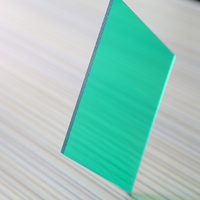 heat resistant Polycarbonate tinted plastic roofing sheet price