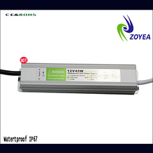 45w waterproof constant voltage lifud driver led down light 24v 1.87A 45w IP67