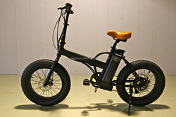 20inch folding fat tyre electric bikes lithium battery bike CE certification (HJ--F25)