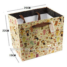 Full color paper photo frame packaging bags