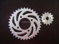 Smash motorcycle chain and sprocket sets factory price