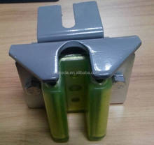 high quality elevator parts counter weight hollow guide shoe