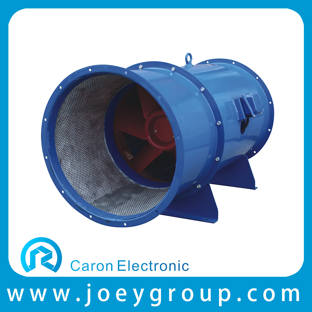 high temperature smoke exhaust mixed flow fan