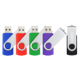 4gb 8gb 16gb 32gb Colourful Swivel USB Flash Drive with customized logo