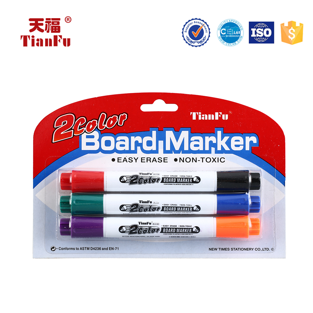 Exquisite design B-2108 colourful jumbo pop low odor refillable whiteboard markers