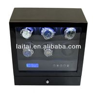 New shelves watchwinders hot sale 2013 watchwinders with Mabuchi motor watch winder for stock watch boxes & cases