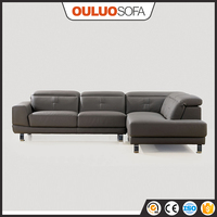 2015 Hot Sale Rozel Leather Sofa In Malaysia