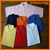 2015 New Styles Mens and Womens Cotton Polo Shirts Surplus Stock 47K pcs lot 151009V -6