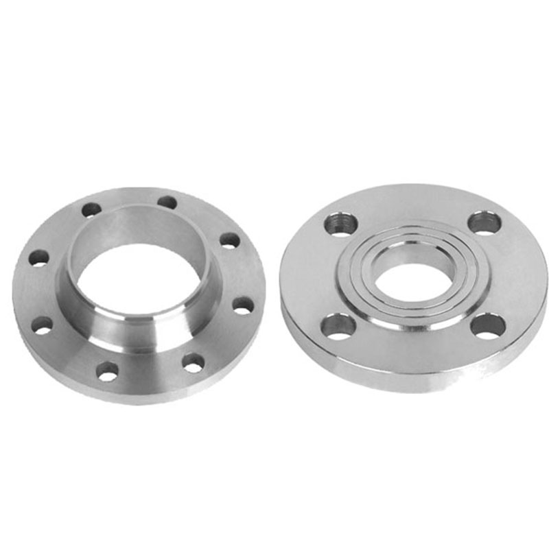 Stainless adapter wn lap joint flange