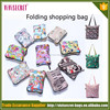 Famous brand foldable nylon shopping tote bag