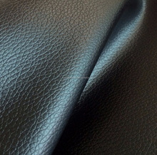 DE90 Litchi grain pvc Leather Fabric For sofa furniture