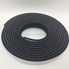 Anticollision window adhesive rubber seal strip