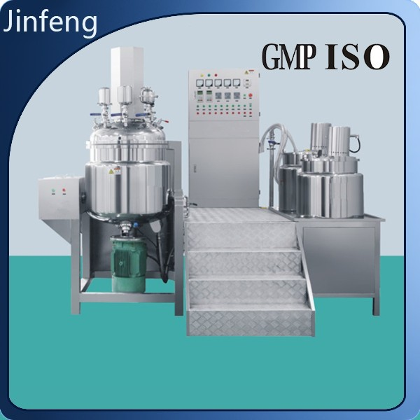 Chemical Equipment Cosmetic Vacuum Emulsifying Mixer