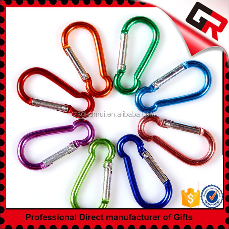 Fashion High Quality Metal Aluminum Carabiner