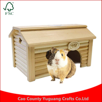 Customize Large Square Mouse Wooden House