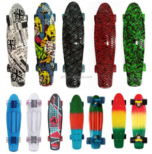 hot sale water transfer printing PP 2206 EN71 mini cruiser plastic retro board fish board skate