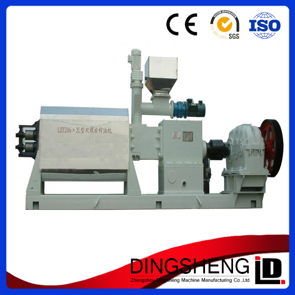 High efficiency two screw sunflower seed oil extruder