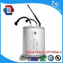 lithium ion battery 12V 100Ah Bluetooth Function LiFePO4 Battery Pack for Car/RV /LYLIAL12V100B965
