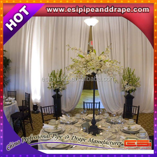 ESI Hot Selling Velet Flame Resistant Blackout 100% Backdrop Drapery & Curtains