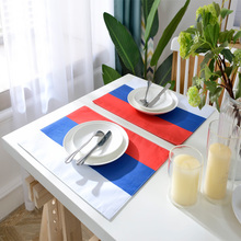 Nationalflagge Muster Design Polyester Drucken Tischset