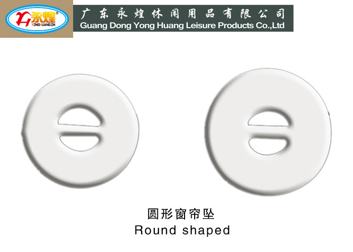 high quality curtain lead weight Round shaped curtain weight