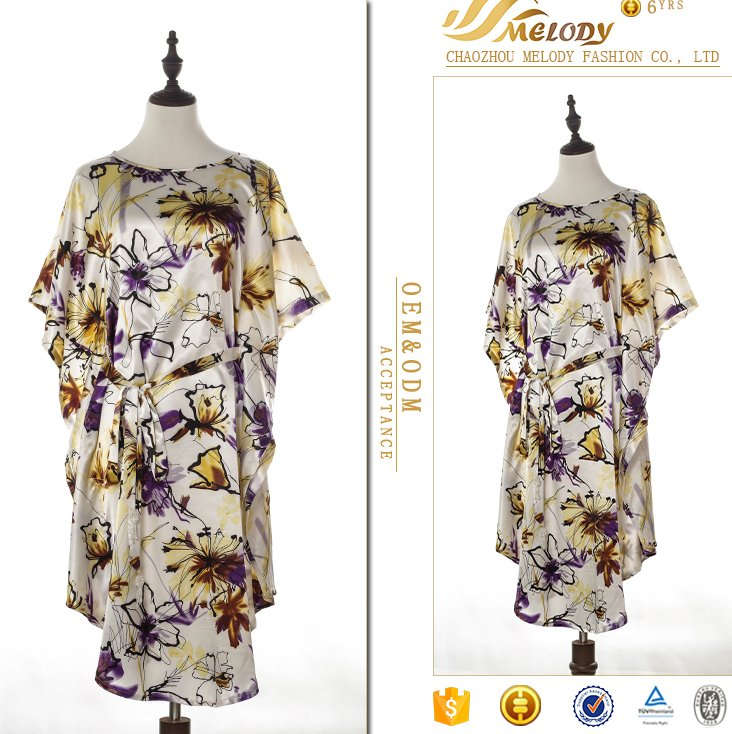 Summer dress Italian casual blouse for fat woman