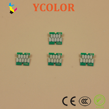 Free shipping! Single use stable cartridge chips for Epson surecolor F6200 F7200 F9200 one time use chips