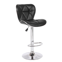 Hot selling Modern Design Commercial swivel bar chairs with backs