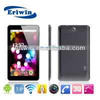 multi-language 7inch cheap 3G tablet pc 1024*600 GPS bluetooth 4.0 dual sim slots provide touch screen for replace / Ella
