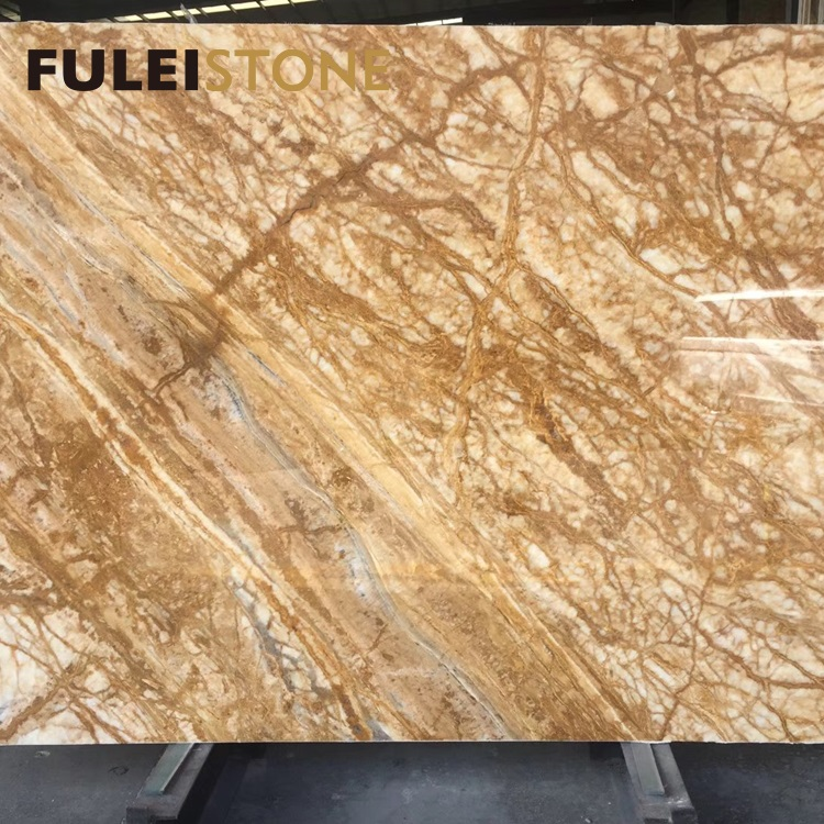 Hot Sale Moca Dark Emperador Marble Fantasy Coffee Brown Marble Slab Tiles Price