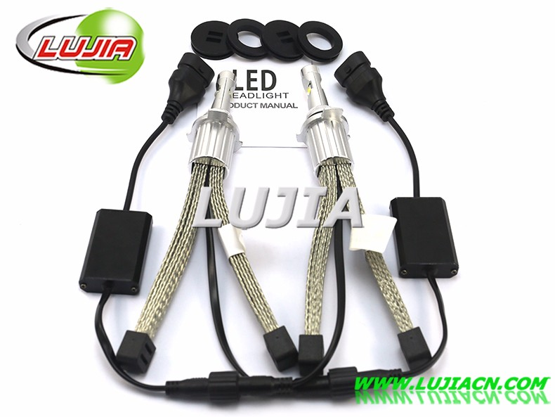 2017 9012 Car LED Headlight H7,H8,H9,H11, 9005,9006,H16, PSX26W,P13W, 4800LM XHP50 80w LED car Headlight kit auto spares