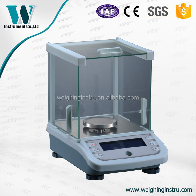 0.001g Low Power Indicator Precision Balance under weighing hook