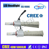 New arrival H1 H7 H3 H8 H9 H11 H16 9005 9006 H4 H13 9004 9007 auto led headlight bulb, lifespan motorcycle