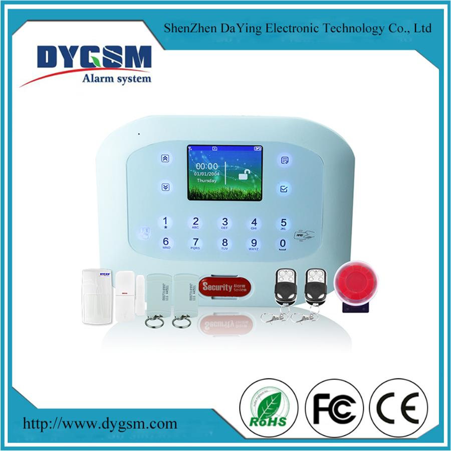 House Alarm System 2016 Wireless Google Play App For Mobile PSTN+ GSM Alarm System