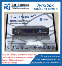 North America Satellite Receiver with JB200 Module DVB-S2 ATSC Tuner Jynxbox Ultra HD V2016