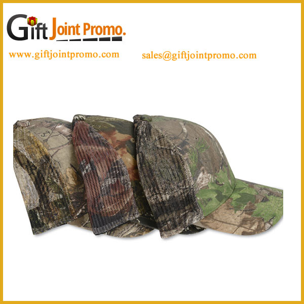 Wholesale Military 5 panels Trucker Mesh Hats Caps