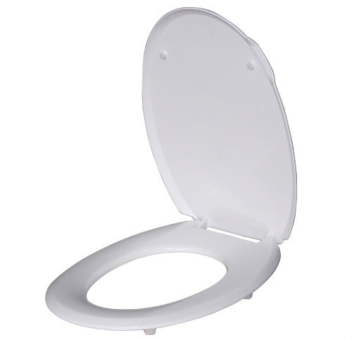 plastic toilet seat cover/universal type fit almost kind of toilet seat white and milk white