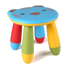 Best selling! Plastic PP colorful foldable children kids stools baby folding chairs