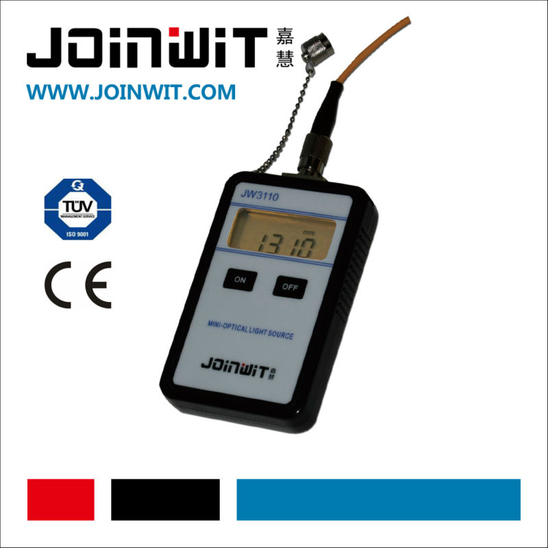 JOINWIT,JW3110,Alkaline Battery for power supply,mini optical light source,optical fiber cable tester