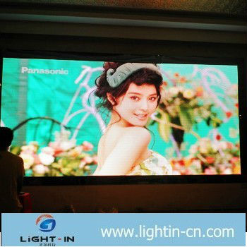 electronic reader board p7.62 indoor full color led display screen p6/p4/p10 small size led screen display indoor