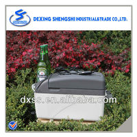 Durable refrigerator bottle drink ice cool box car cooler chest 7L