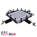 "US Stock-High Precise 24"" x 24"" Manual Screen Stretching Machine Screen Printing Stretcher"