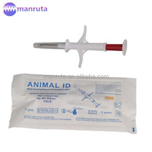 Manruta Leading manufacture Injection RFID Animal Microchip Injection tracking chip for animal in stock wholesale