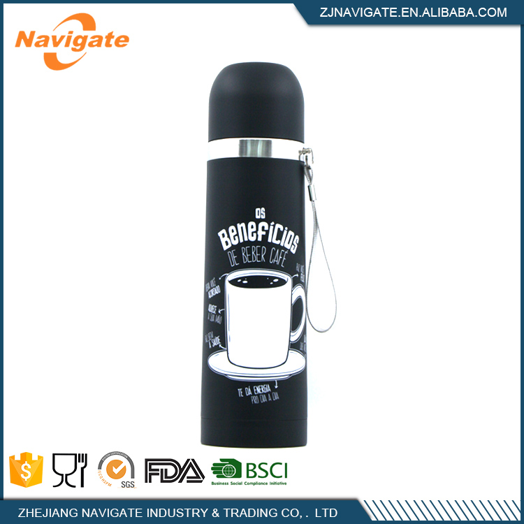 Unique Shape Unbreakable Body Vacuum Thermos Flask